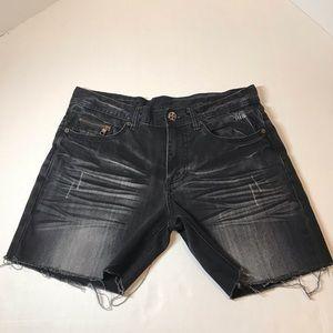 Armani Exchange Distressed Shorts